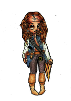 Captain Jack Sparrow finished by SweetCee
