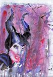 Maleficent (experimental) by Bloodfire09