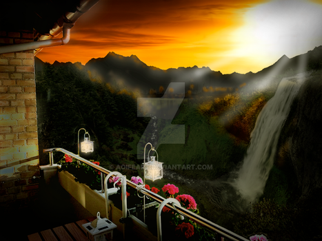 Room with a View by AoifeArt