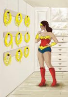 Wonder Woman's decision by ForWhom