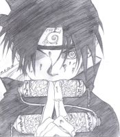 Psychotic Sasuke by MoPotter