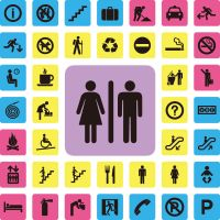 Warning hint flag icons vector(4) by FreeIconsdownload