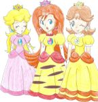 Peach, Pikasia and Daisy by LilacPhoenix
