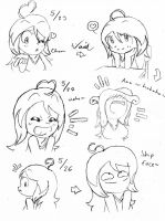 Heartbeat Bomber ~ Aika Doodles by Son-Void