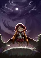The little red crazy hood by telly0050