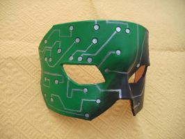 Super Circuit Board Mask by Draikairion