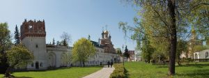 Novodevichy Convent in Moscow by Graid