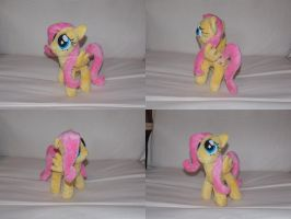 MLP FiM: Filly Fluttershy plushie! by vulpinedesigns