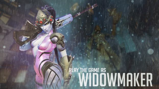 Play The Game As Widowmaker by ArturoArtwork