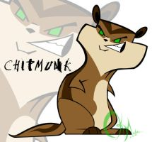 Concept art - Chipmunk1 by KM-cowgirl