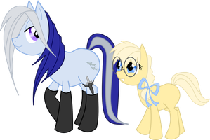 DEC Ponies by BellaCielo