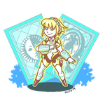 Aigis (ANIMATED) by avroillusion