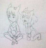 .:Leti and Reena:. by Cintia-the-Cat