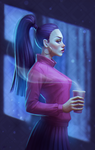 Night coffee by inSOLense