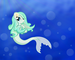 A Seapony by VanillaChama