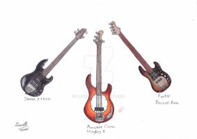 Basses by Lm136