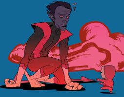 Nightcrawler VS by EvanBryce