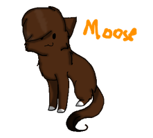 Moose by Sia-Kitty