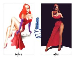 Jessica Rabbit by nacago