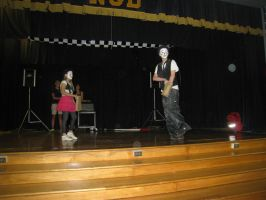 School Show 3: Looking at the crowd's reaction by RockO-the-clown