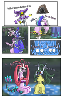 Dialga Palkia have trapped by namida2wind