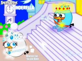 Angry Birds Fairytales: Cinderella by MeganLovesAngryBirds