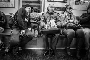 Subway Scene by niklin1
