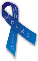 Child Abuse Ribbon by Obsidian-Siren