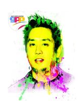 Mr Hahn Linkin park Gad's Photo paint by Muhammadtaufiq123