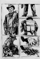 ink western concept work by bordon