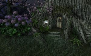 Fairy House by Just-A-Little-Knotty