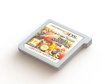 3DS game render by Marlous2604