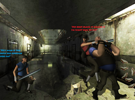 TF2: The Scouts Fight For The Sandviches by SovietMentality