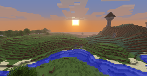 Sunset on the Keep by Minerunner