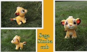 Japanese Simba cub by SEGA by Laurel-Lion