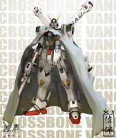 Crossbone Gundam: X1 by sandrum