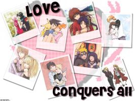 Love Conquers All Wallpaper by SabakuNoHeeromai