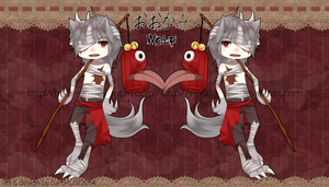 Adoptable 04 .:Demon Wolf:. AUCTION OPEN by s-pringdaisy