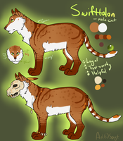 Swifttalon Ref by SpytDragonFyre