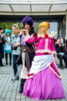 Sinbad flirt with Lucy by Harker-Cosplay