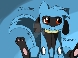Riolu for x-Blue-Spirit-x by jodiepikachu