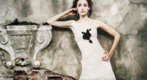 Emmy Rossum by whitewithblackspots