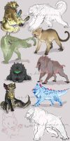 Babbies monkeys and fluffies oh my by Kumotogi