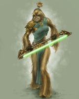 Jedi Wookiee by T-Turner