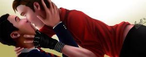 Glee: Klaine - Misery by cacell
