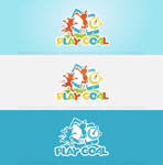 Play Goal Logo Concept by DianaGyms