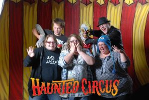 Goomba Squad Haunted Circus Unrestrained by Goomba-Squad