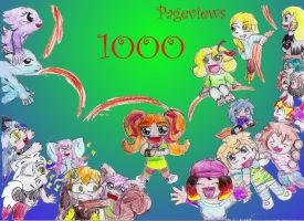 1000 Pageviews XD by Chibi-C