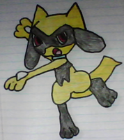 Shiny Riolu drawing by SusanLucarioFan16