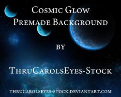 Cosmic Glow Background by ThruCarolsEyes-Stock by ThruCarolsEyes-Stock